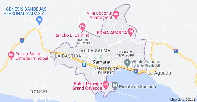 Map of Samana 32000