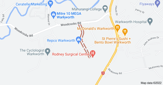 Location of Morrison Drive