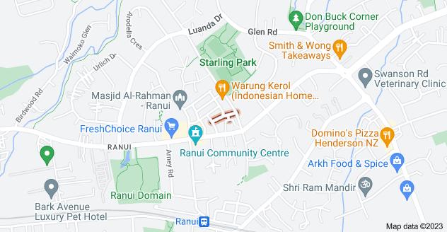 Location of Craiburn Street