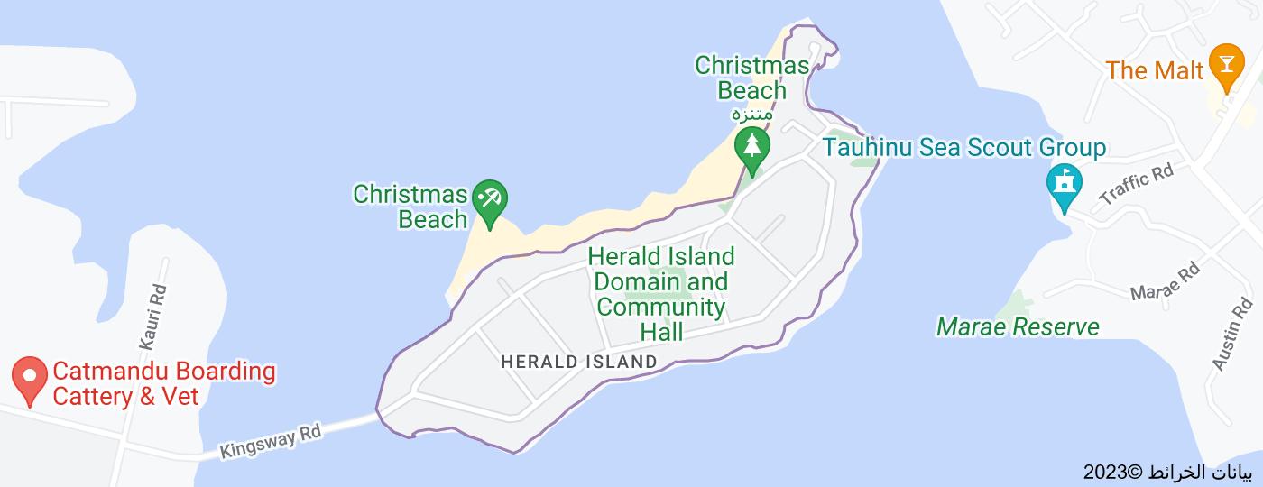 Location of Herald Island