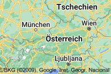 Location of Österreich