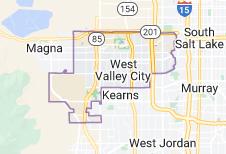 Map of West Valley City, Utah