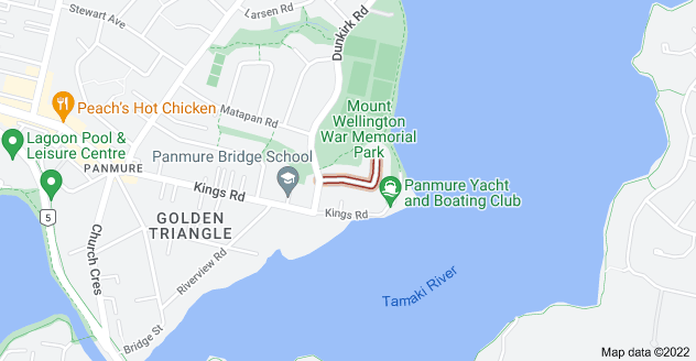 Location of Armein Road