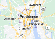 Map of Providence, Rhode Island