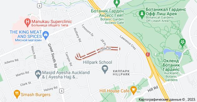 Location of Колли-стрит