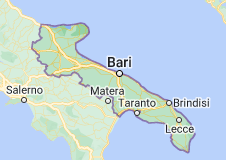 Mappa di: Puglia
