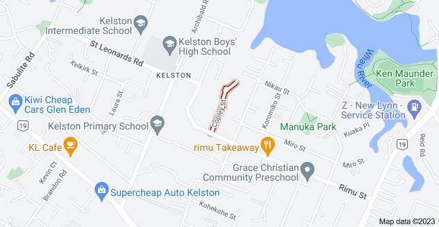 Location of Copley Street