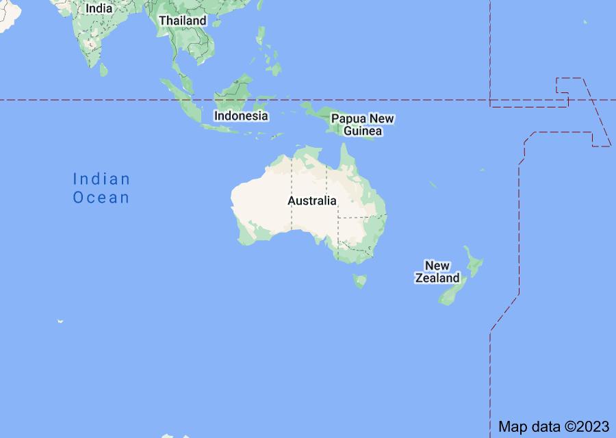 Location of Australia