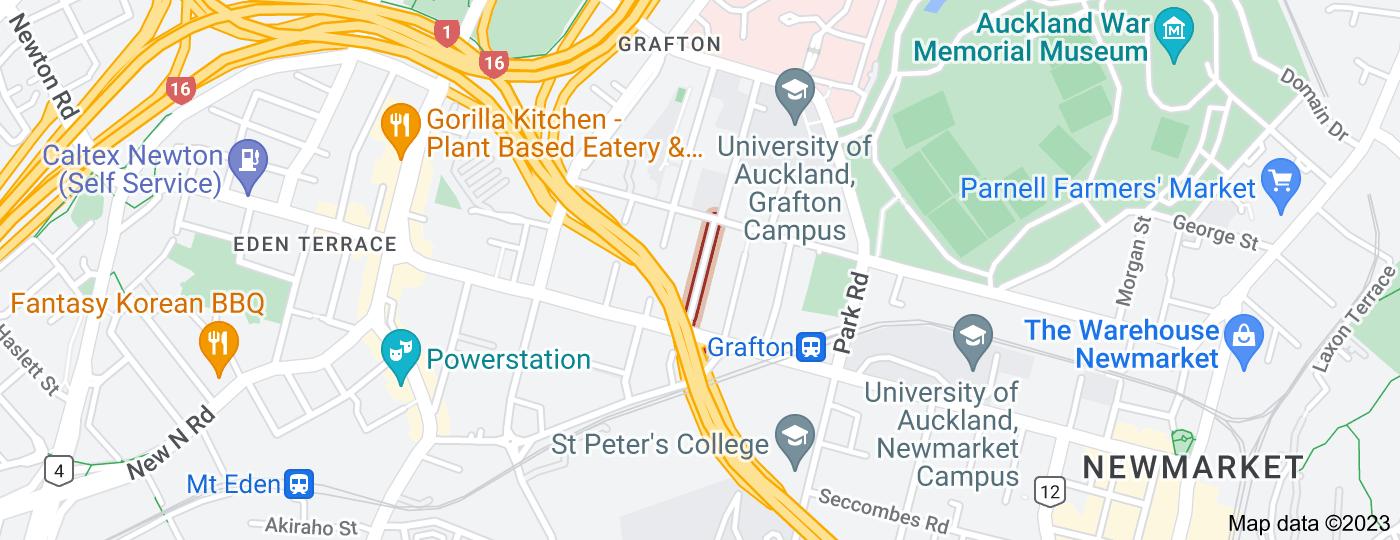 Location of Claremont Street