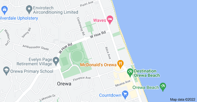 Location of Edward Avenue