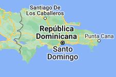 Location of República Dominicana