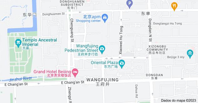 Mapa de Wang Fu Jing Xiao Chi Jie, Dong Dan, Dongcheng Qu, Beijing Shi, China