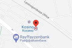 Location of Kosino