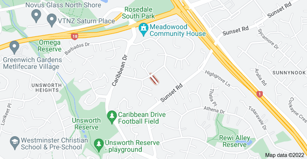 Location of Felicity Place