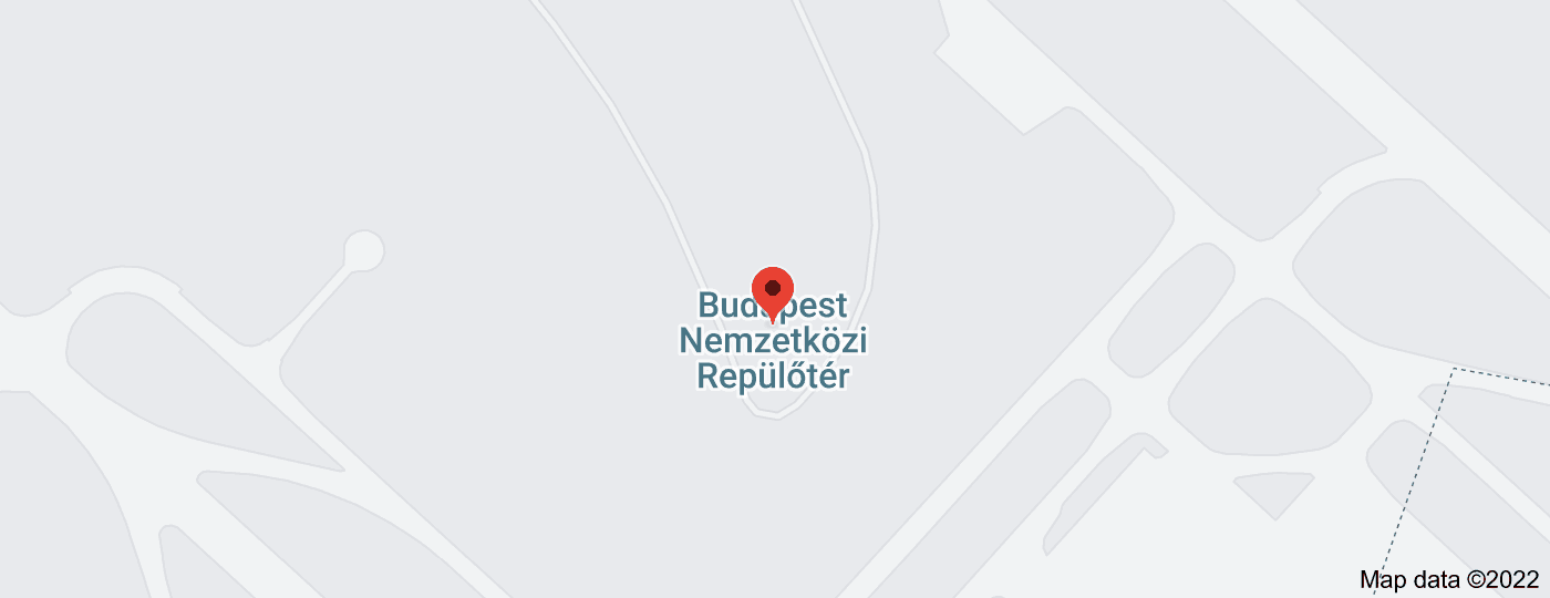 Location of Budapest Airport