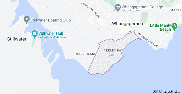 Location of Arkles Bay