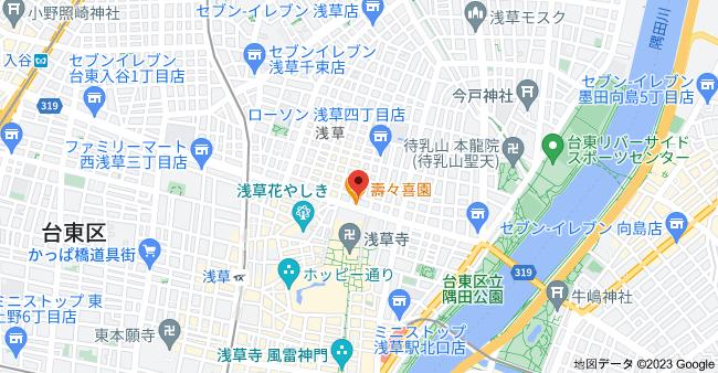 〒111-0032 東京都台東区浅草3丁目4−3の地図