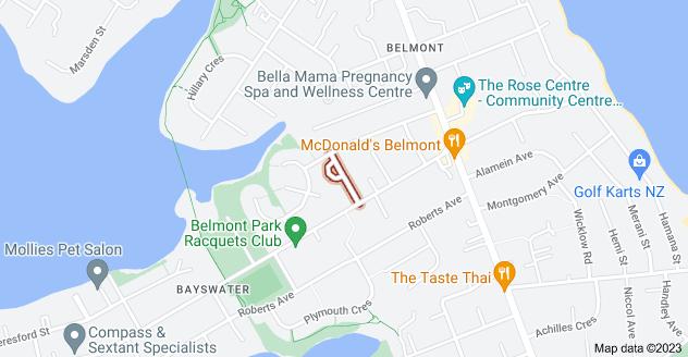 Location of Preston Avenue
