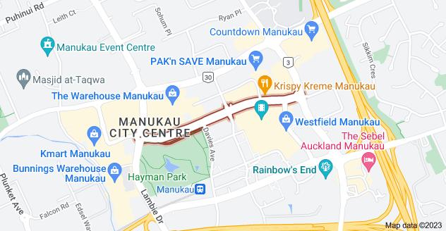 Location of Ronwood Avenue