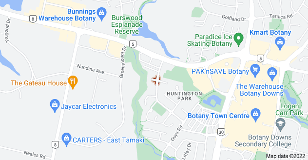 Location of Saint Leger Close