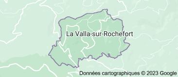 La Valla-sur-Rochefort: carte