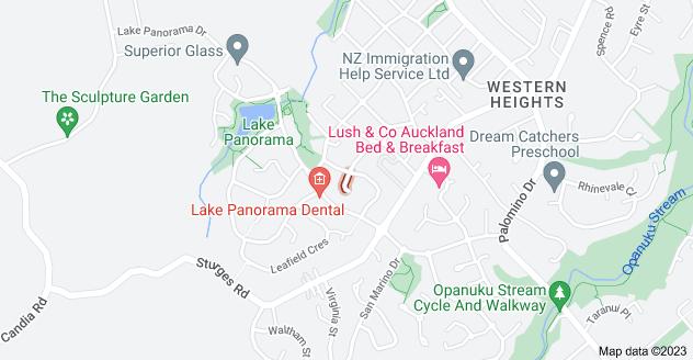 Location of Luna Place