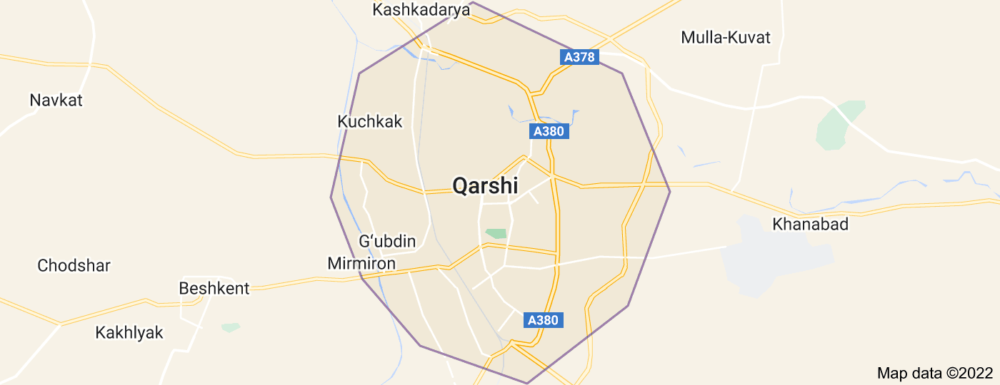 Location of Qarshi