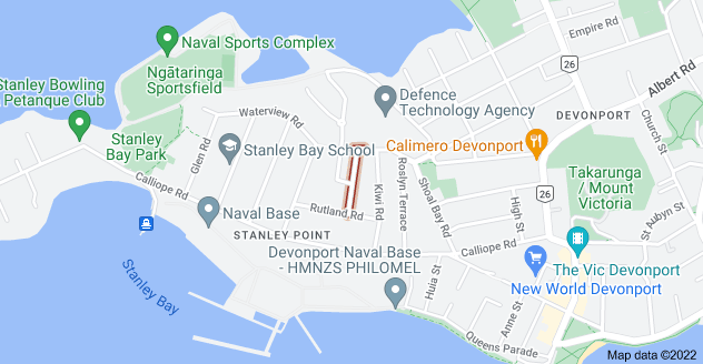 Location of Cautley Street