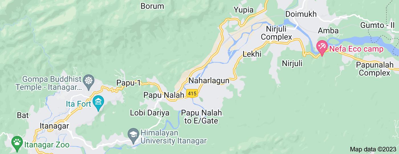 Location of Naharlagun