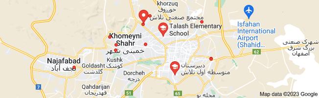 Map of تلاش
