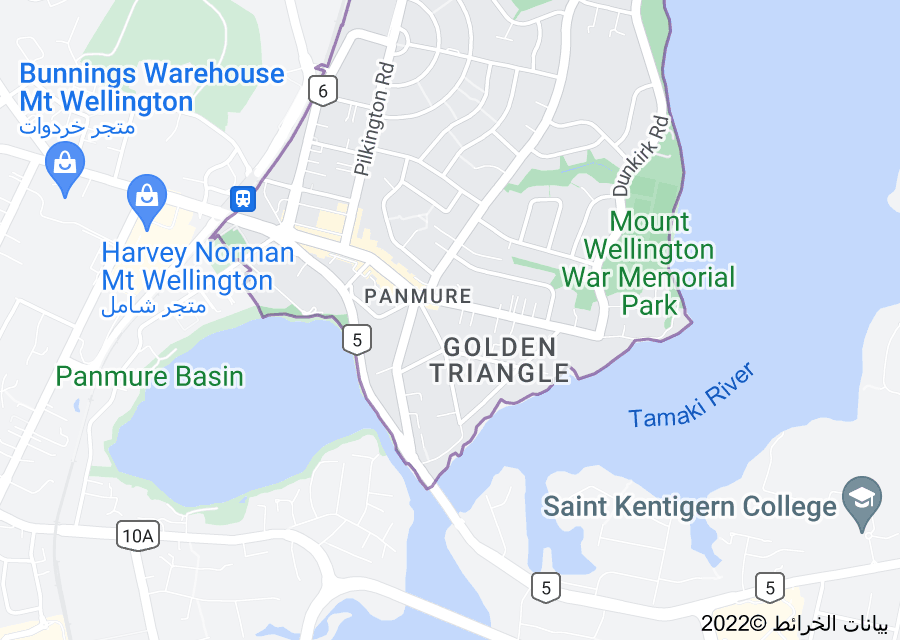 Location of Panmure
