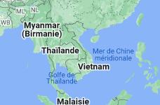 Location of Viêt Nam