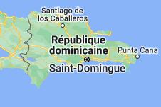 Location of République dominicaine