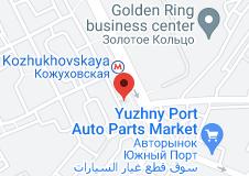 Location of Kozhukhovskaya