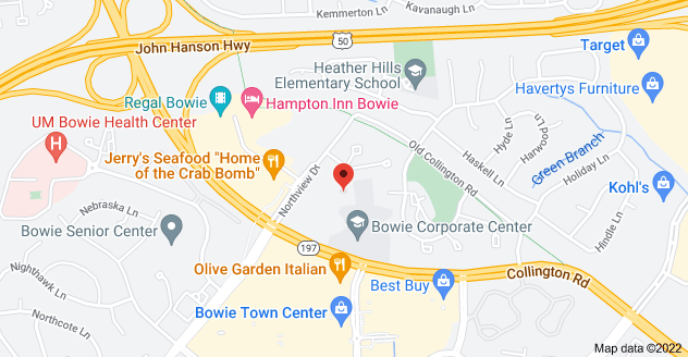 Map of 4337 Northview Dr, Bowie, MD 20716