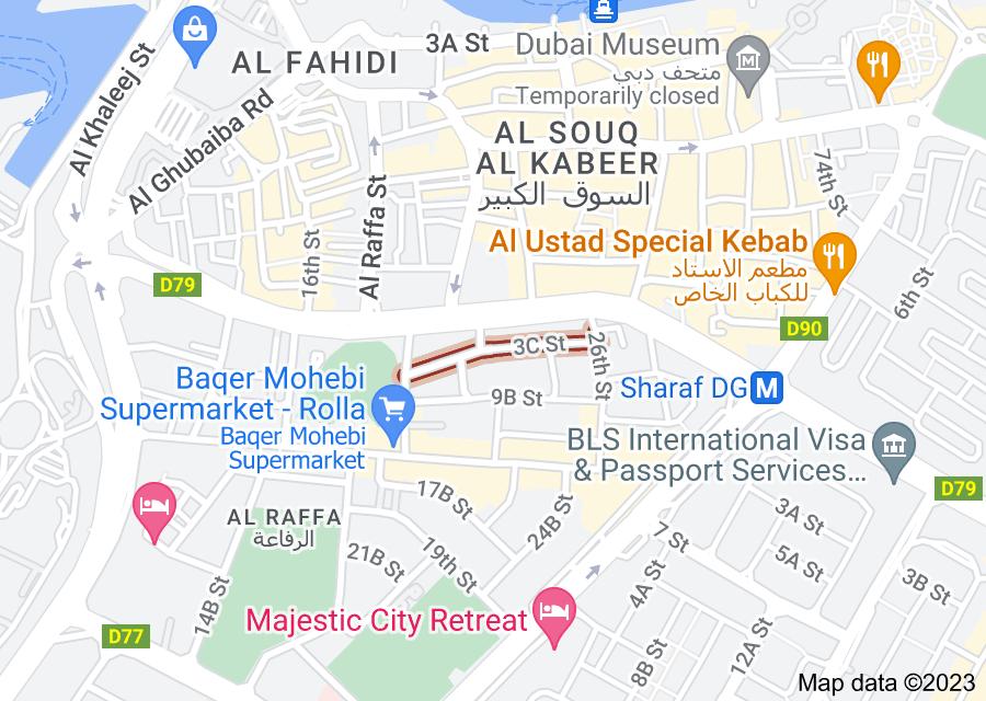 Location of 3 C Street