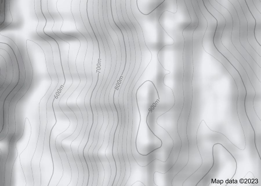 Location of Lushai Hills