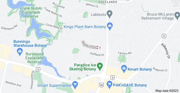 Location of Montecito Place