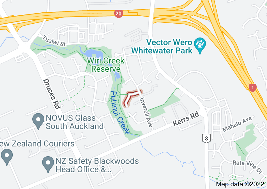Location of Ixia Place