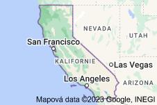 Location of Kalifornie
