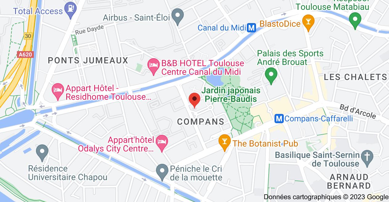 10 Place Alfonse Jourdain, 31000 Toulouse: carte