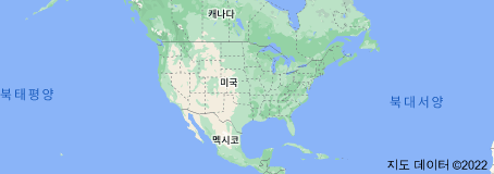 Location of 미국