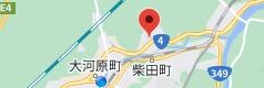 中国家庭料理城香亭の地図