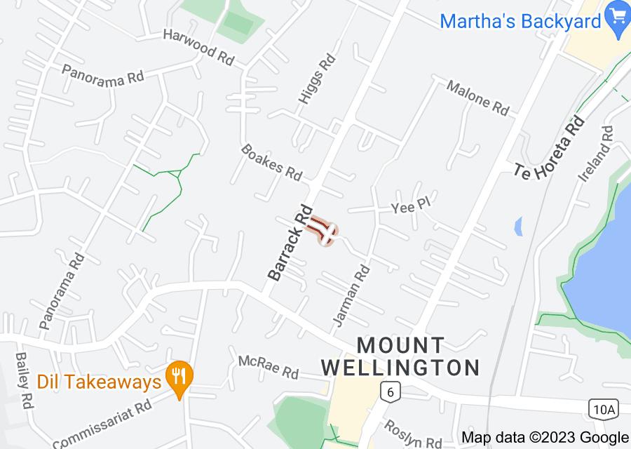 Location of Mountain Views Mews