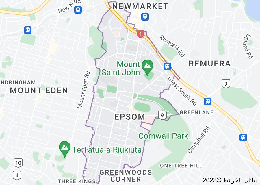 Location of Epsom