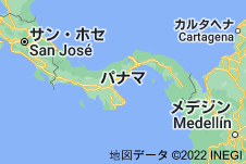 Location of パナマ