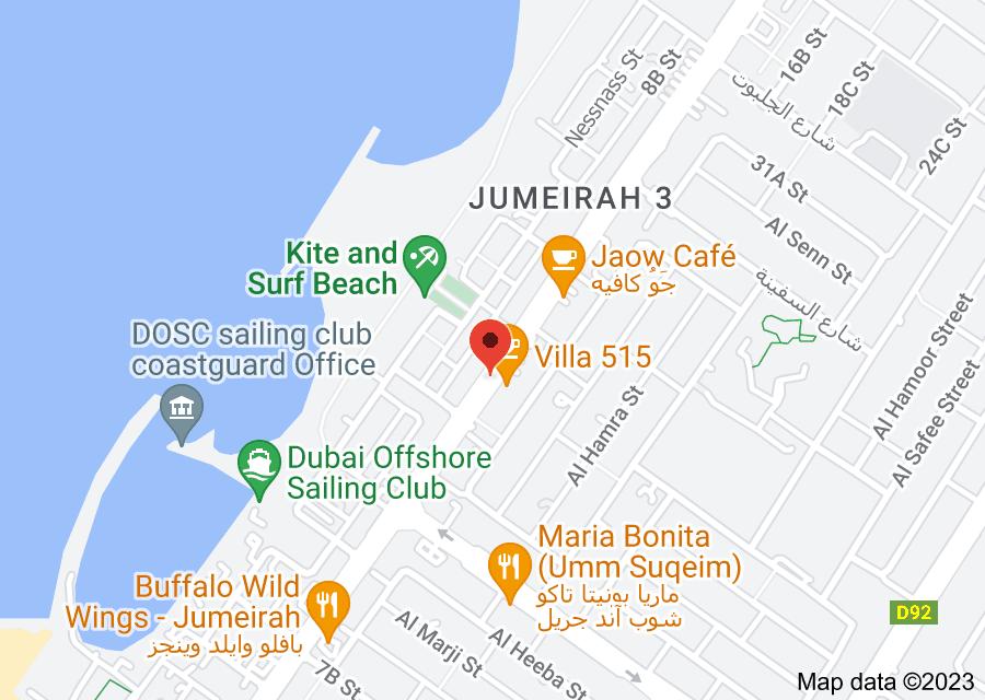 Location of Villa 515