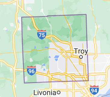 Map of Oakland County