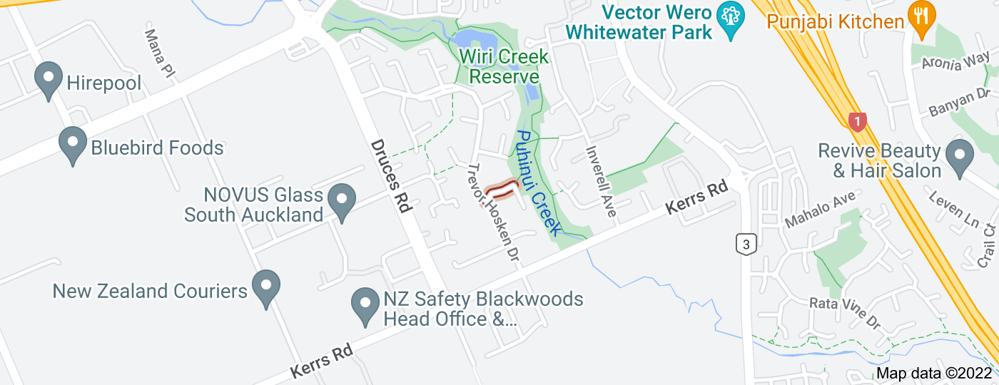 Location of Topaz Place