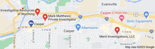 private investigator Casper City, WY